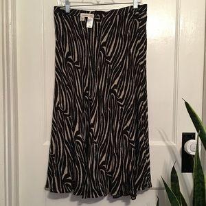 ❤️ cold water creek beautiful reversible skirt